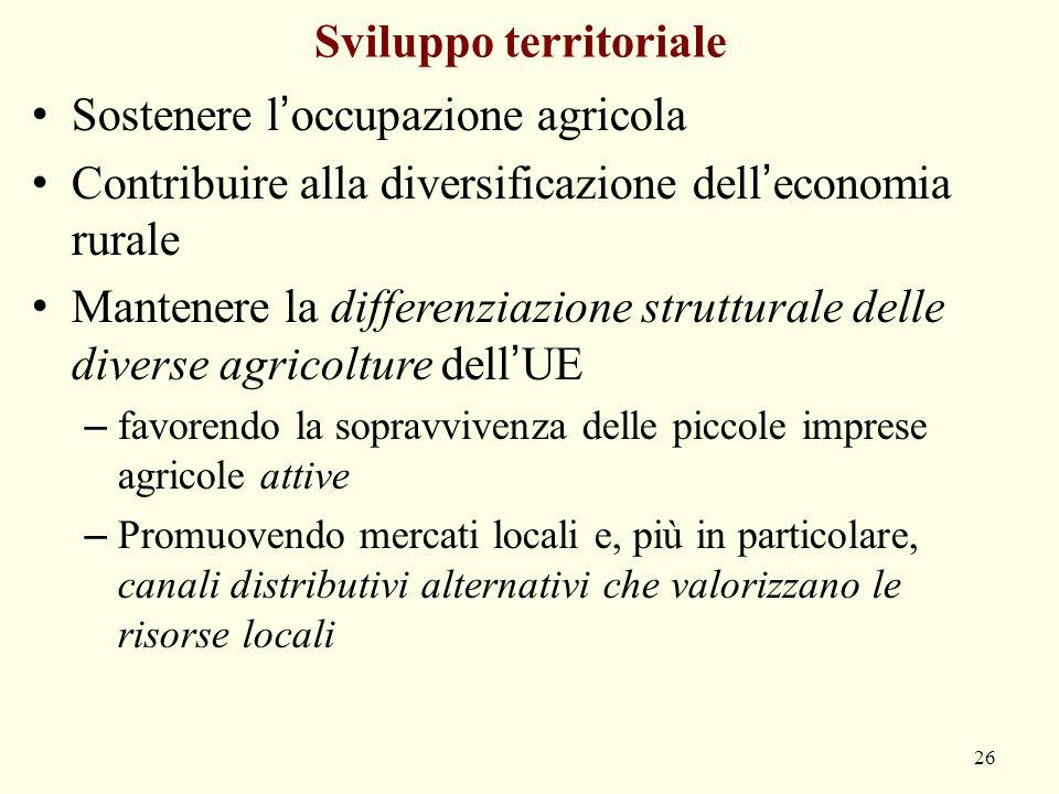 Sviluppo territoriale