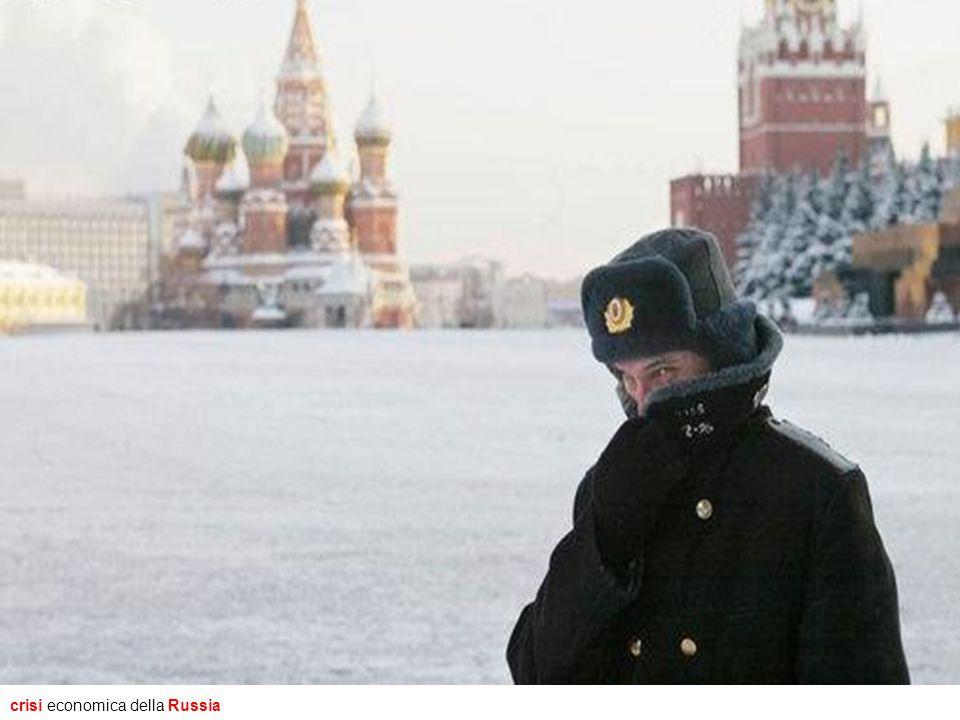 crisi economica della Russia