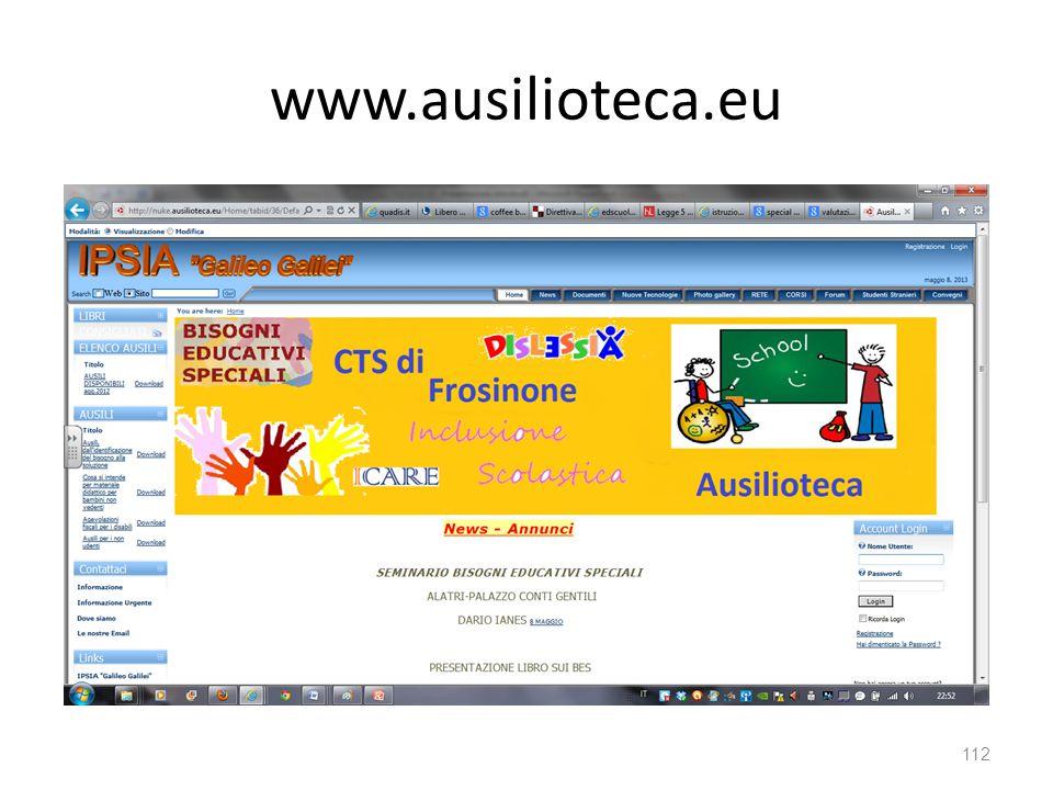 www.ausilioteca.eu