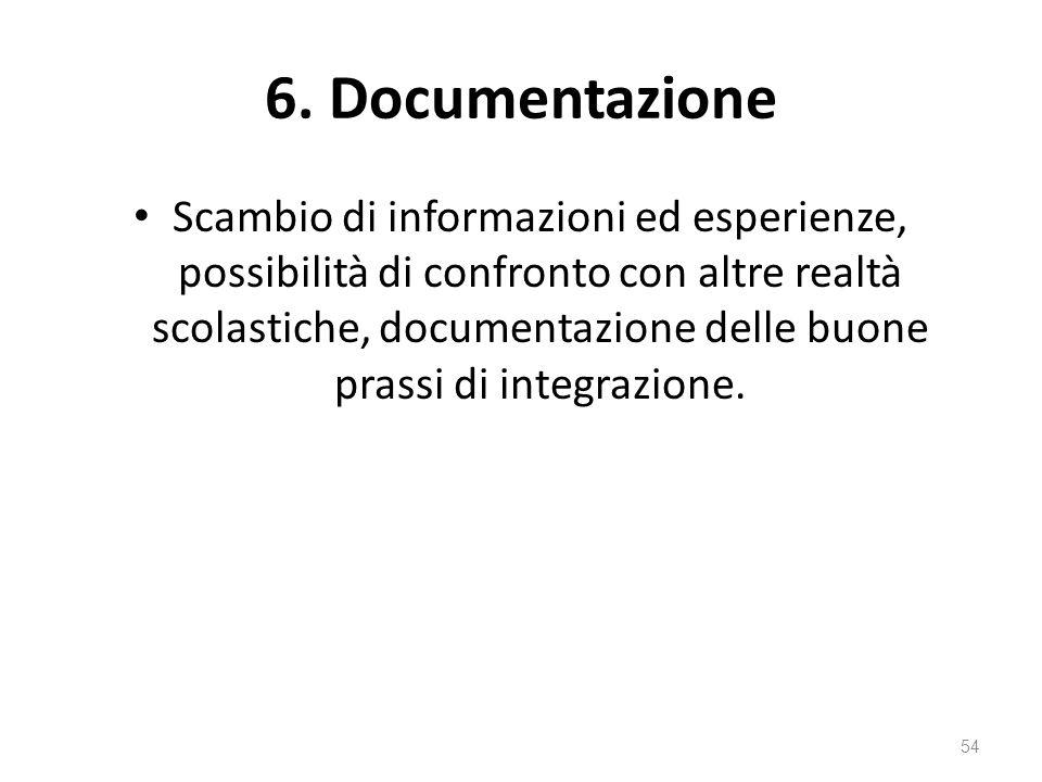 6. Documentazione