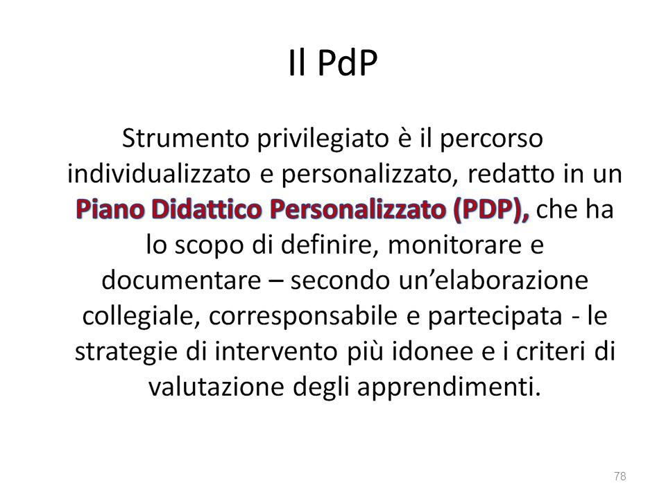 Il PdP