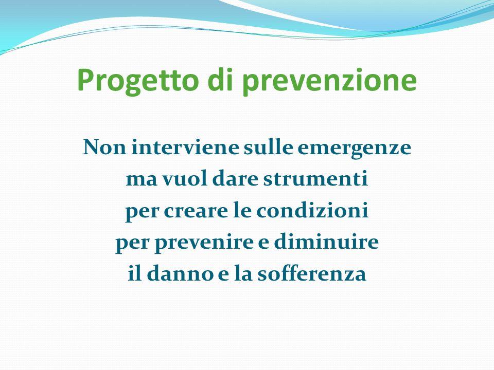 Progetto di prevenzione