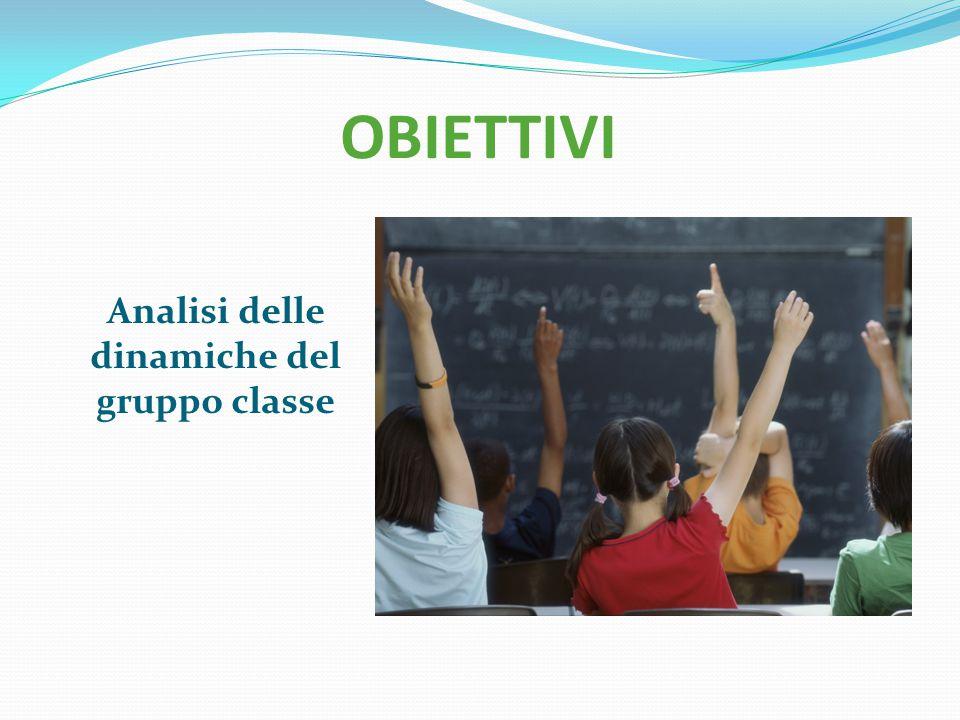 Analisi delle dinamiche del gruppo classe