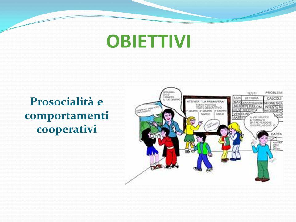 Prosocialità e comportamenti cooperativi