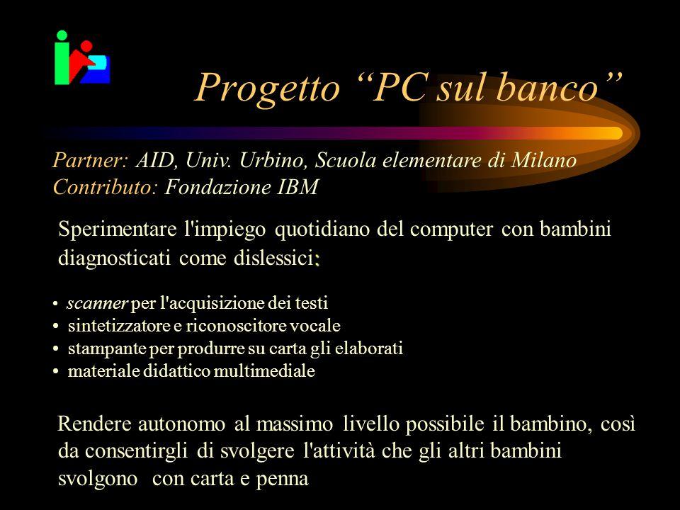 Progetto PC sul banco