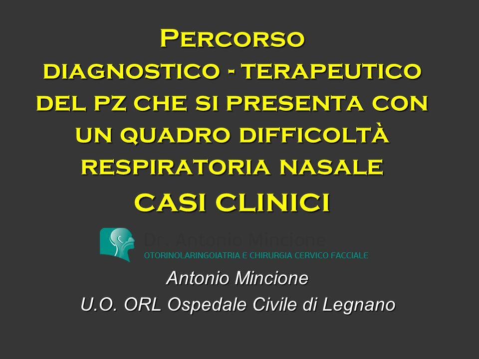Antonio Mincione U.O. ORL Ospedale Civile di Legnano