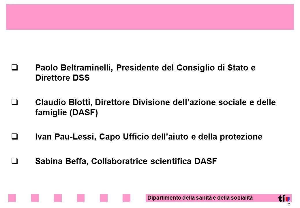 Paolo Beltraminelli, Presidente del Consiglio di Stato e Direttore DSS