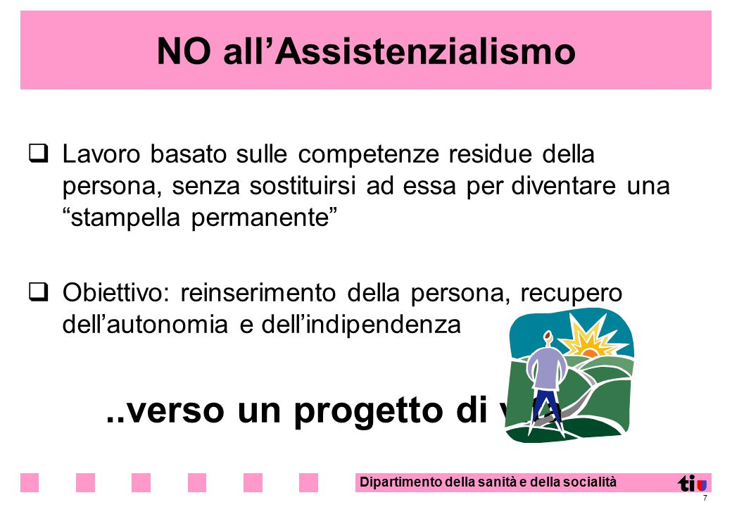 NO all'Assistenzialismo