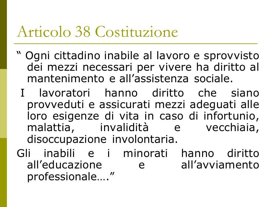 Articolo 38 Costituzione