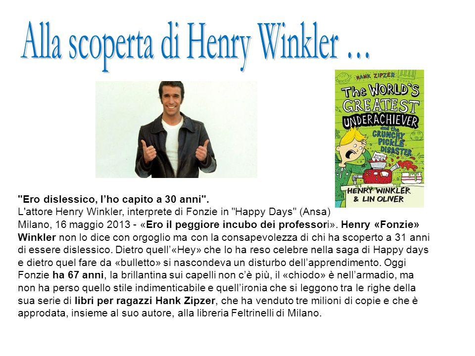 Alla scoperta di Henry Winkler …