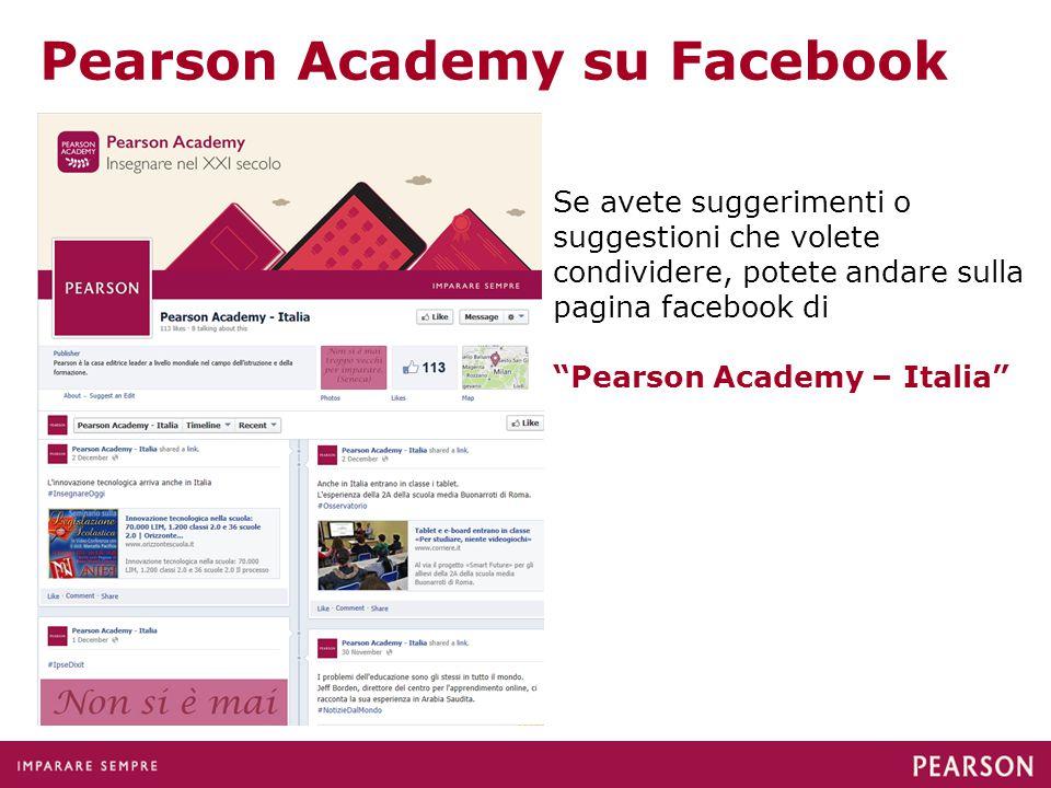 Pearson Academy su Facebook