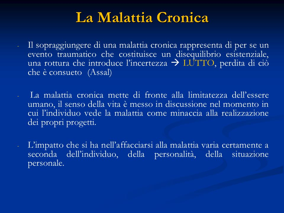 La Malattia Cronica
