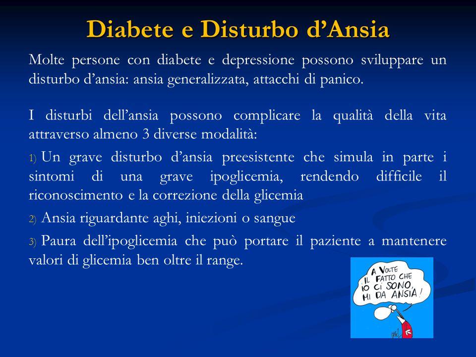Diabete e Disturbo d'Ansia