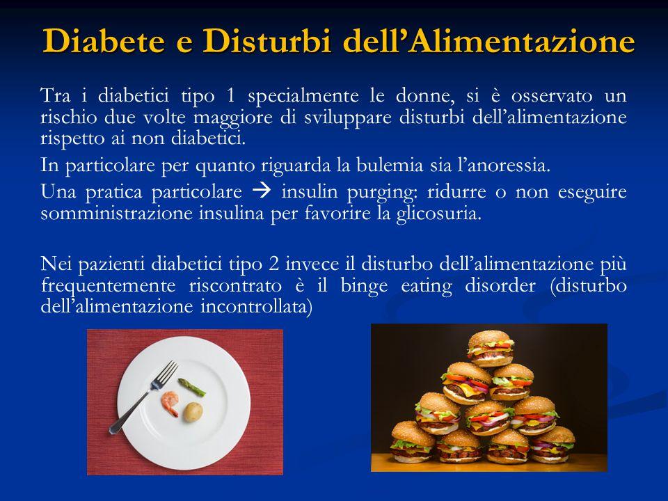 Diabete e Disturbi dell'Alimentazione