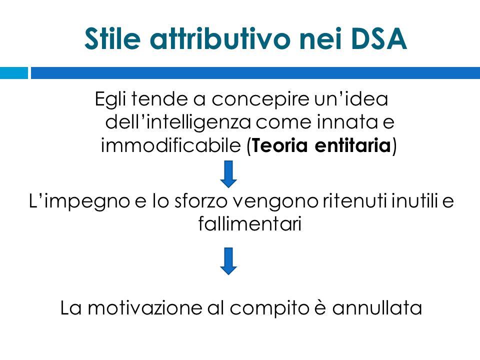 Stile attributivo nei DSA