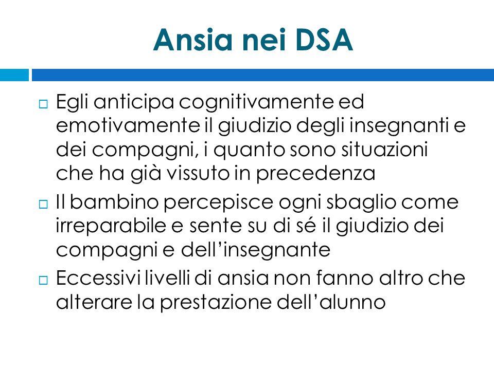 Ansia nei DSA