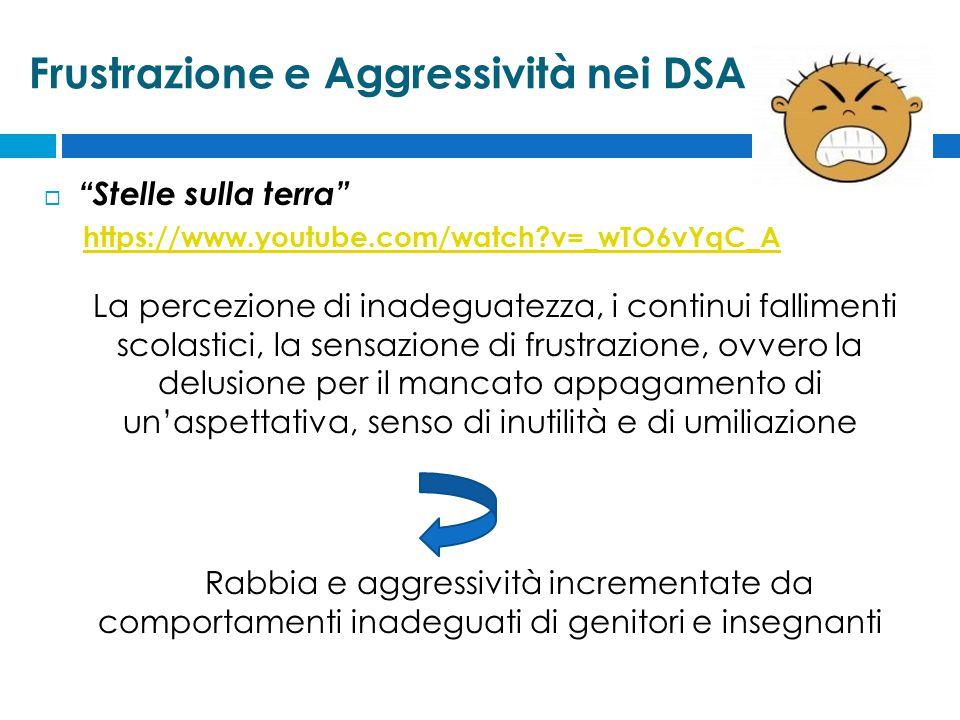 Frustrazione e Aggressività nei DSA