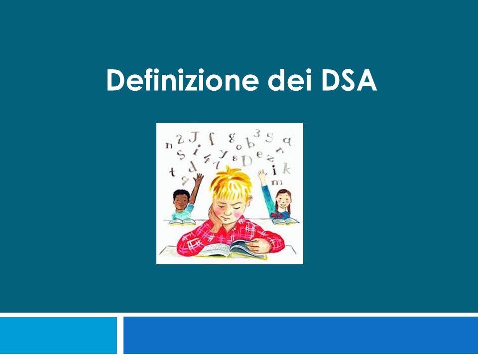 Definizione dei DSA