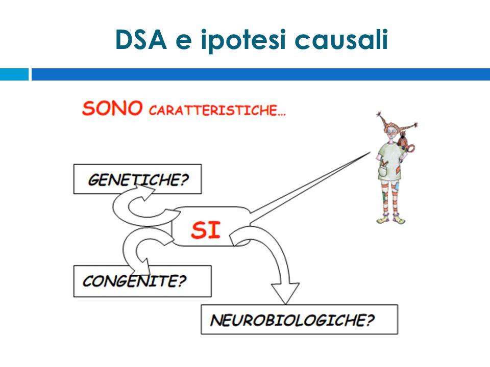 DSA e ipotesi causali