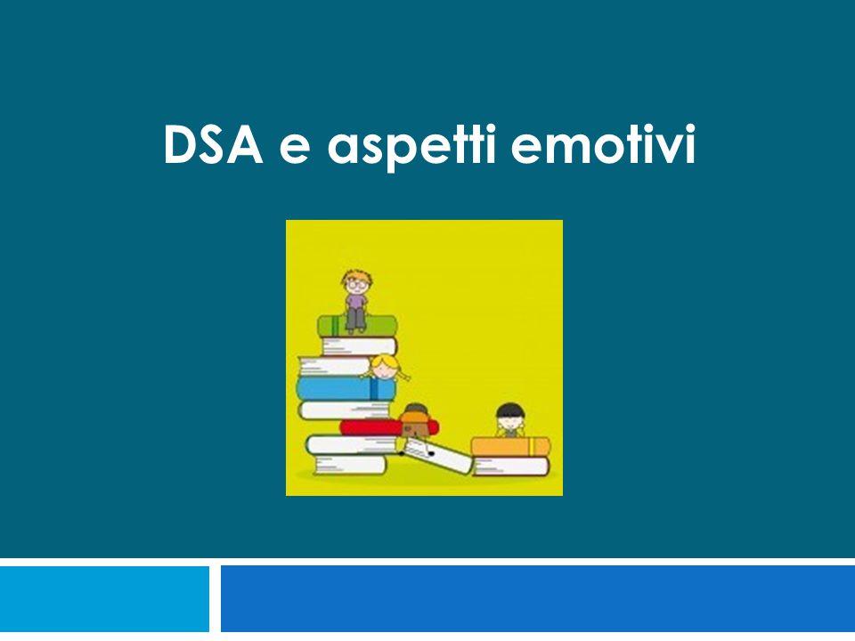 DSA e aspetti emotivi