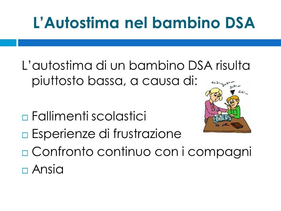 L'Autostima nel bambino DSA