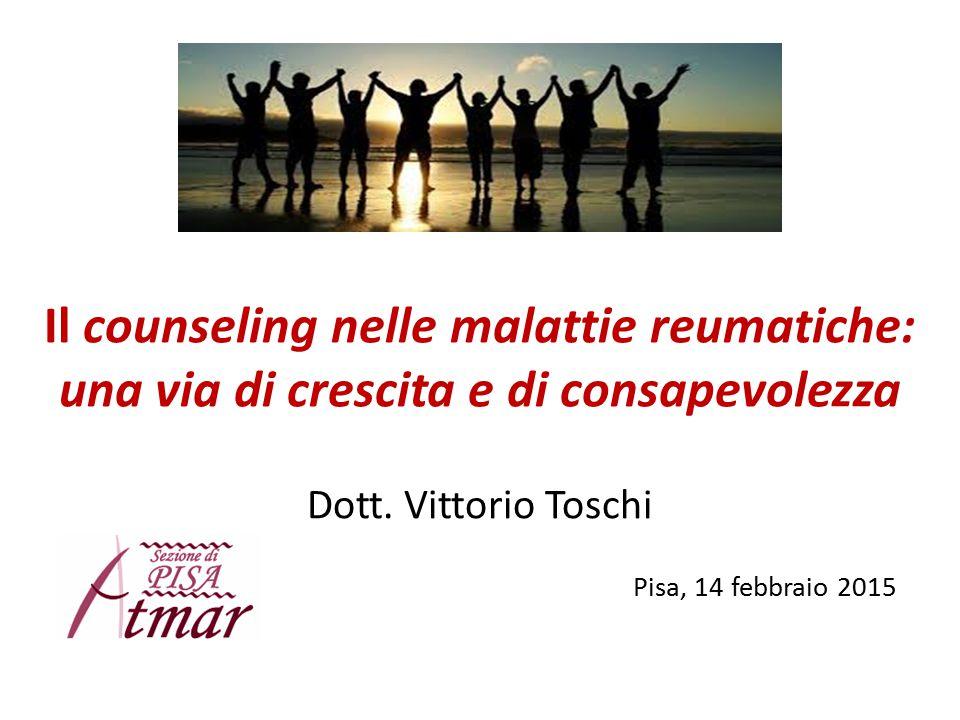 Il counseling nelle malattie reumatiche: una via di crescita e di consapevolezza