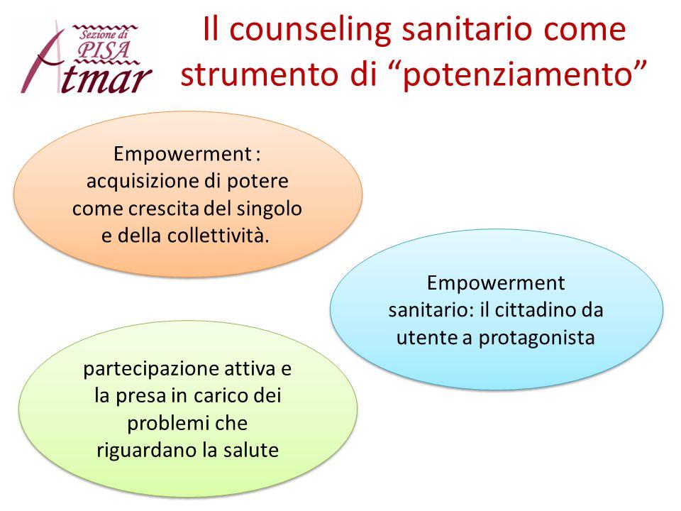 Il counseling sanitario come strumento di potenziamento