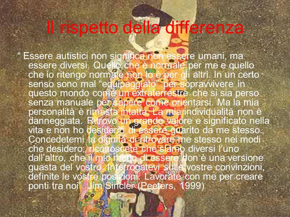 Il rispetto della differenza