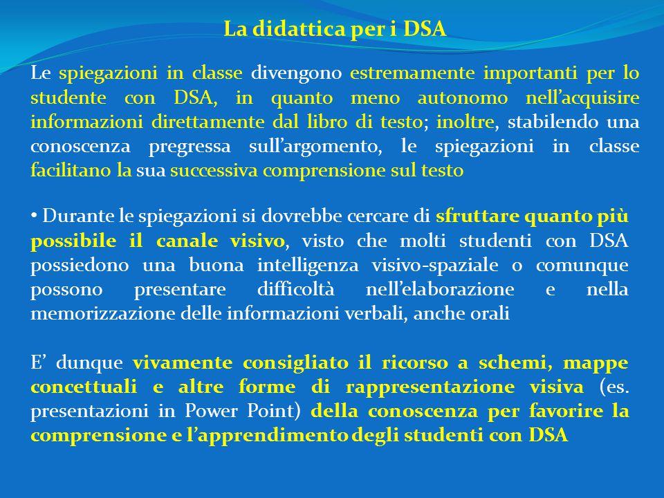 La didattica per i DSA