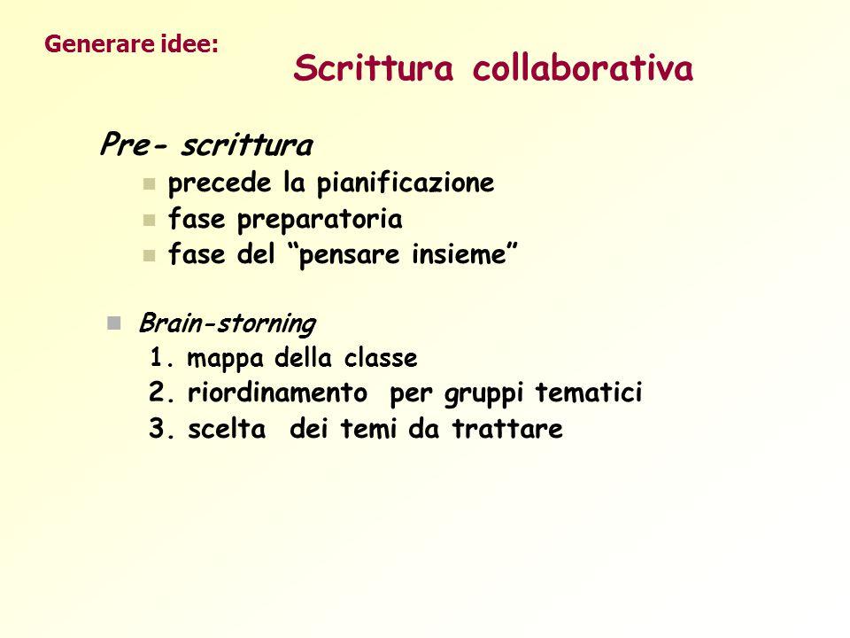 Scrittura collaborativa