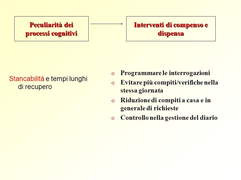 Peculiarità dei processi cognitivi