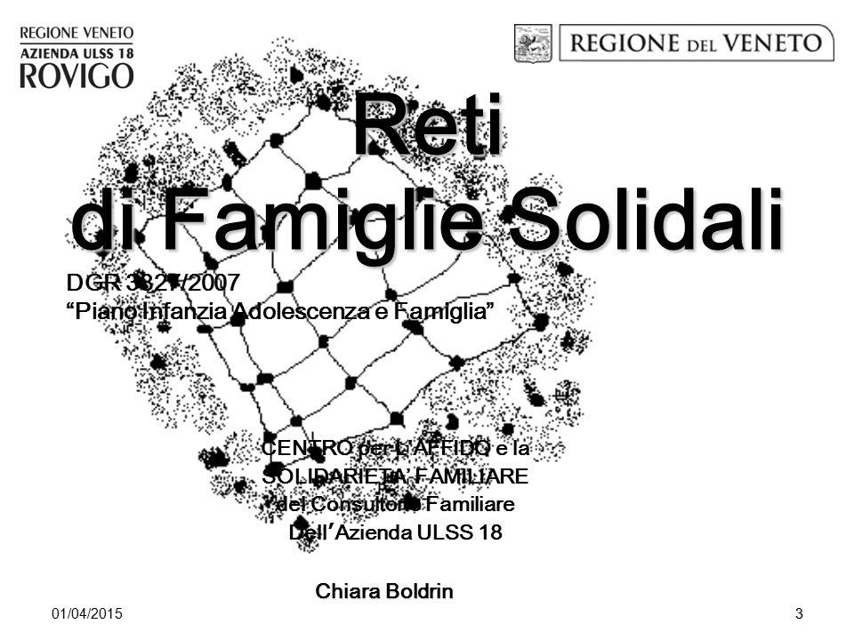 Reti di Famiglie Solidali