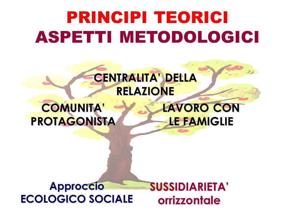 PRINCIPI TEORICI ASPETTI METODOLOGICI