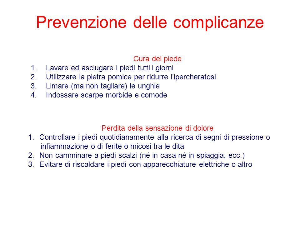 Prevenzione delle complicanze