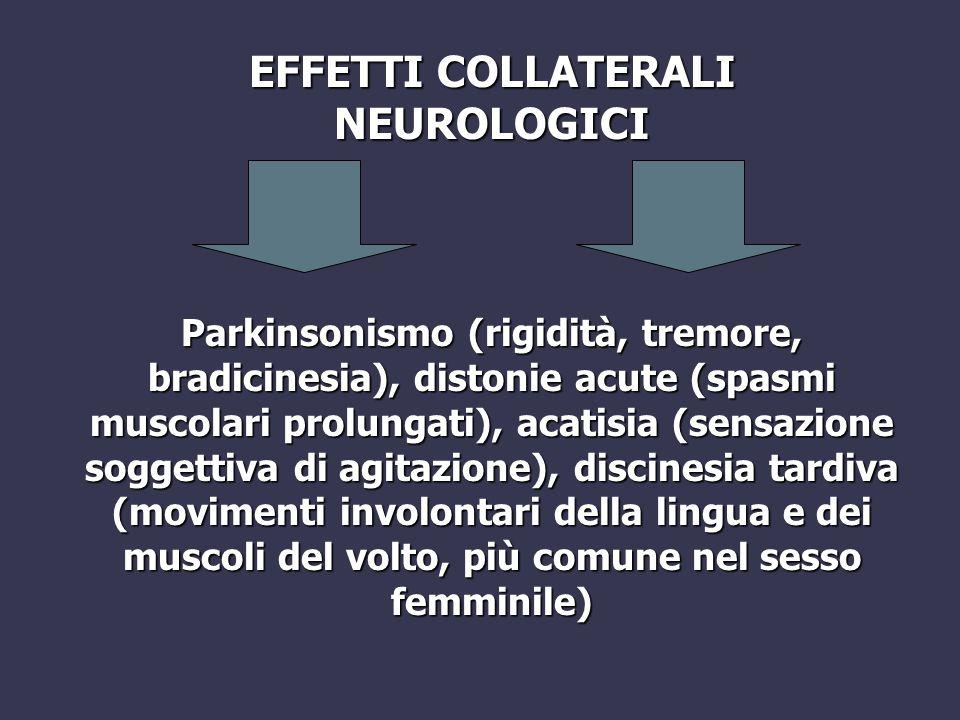 EFFETTI COLLATERALI NEUROLOGICI