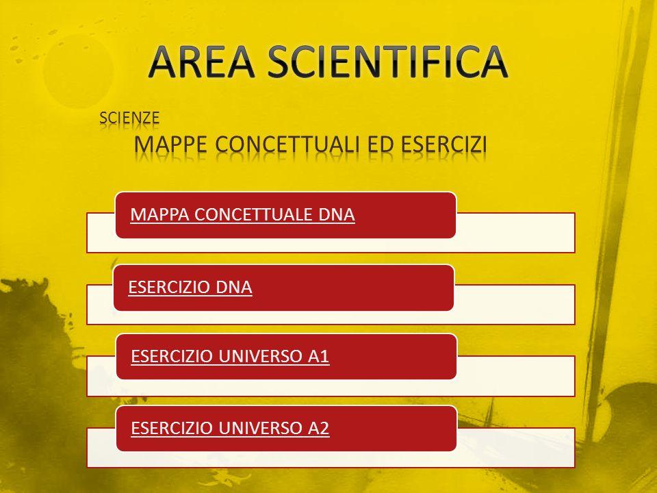 MAPPE CONCETTUALI ED ESERCIZI