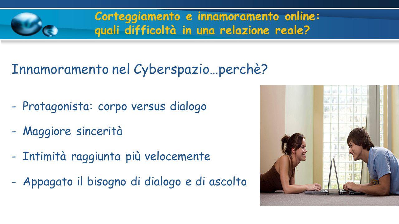 Innamoramento nel Cyberspazio…perchè