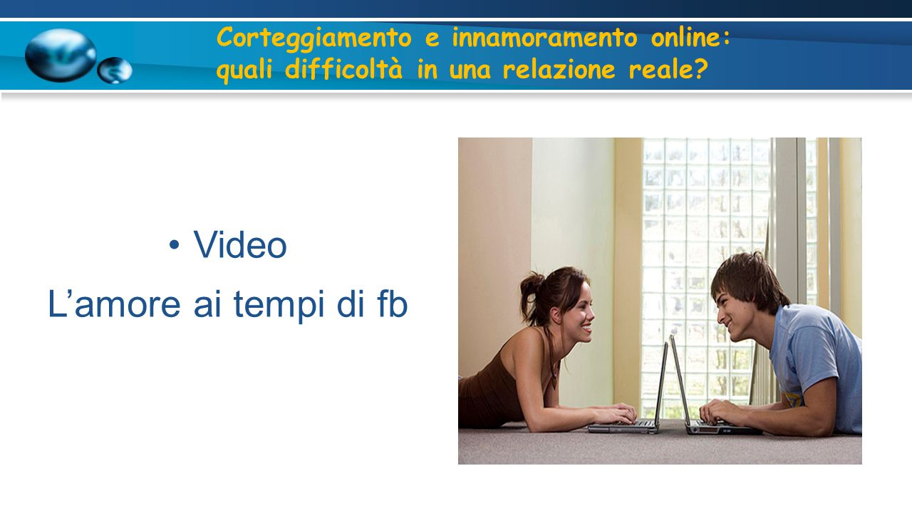 Video L'amore ai tempi di fb