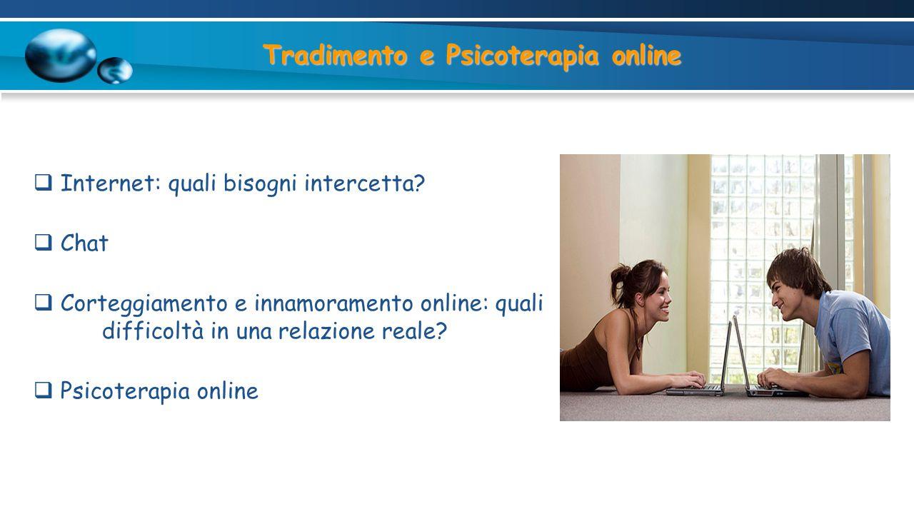 Tradimento e Psicoterapia online