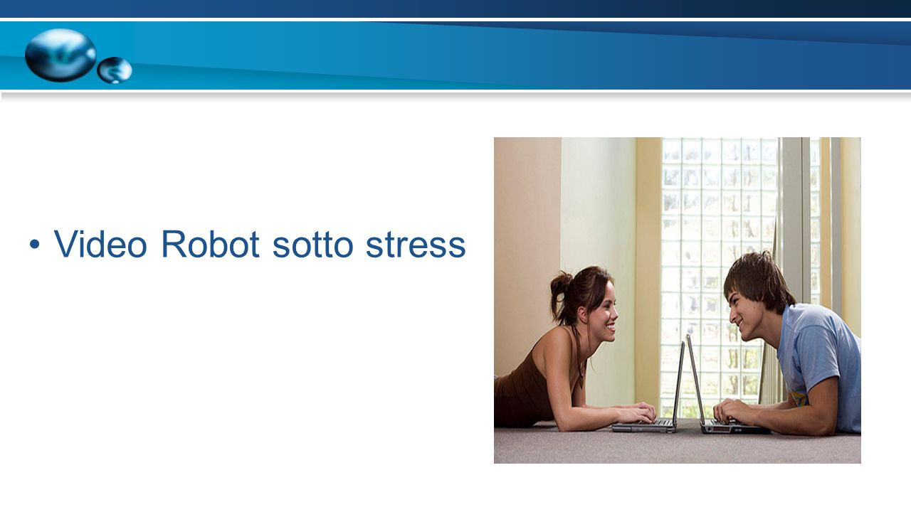 Video Robot sotto stress