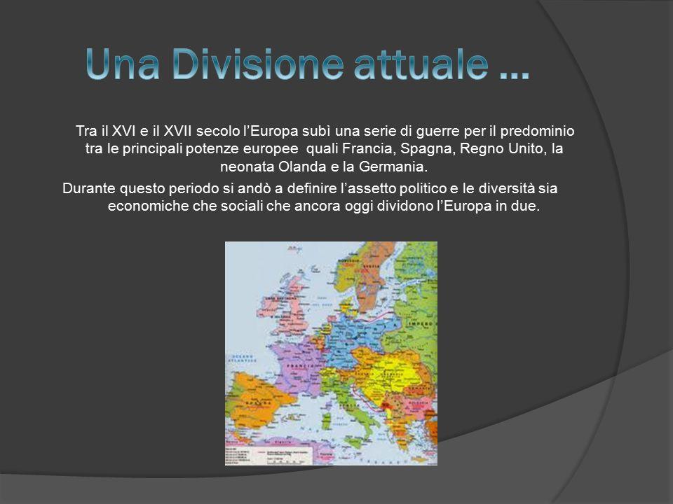 Una Divisione attuale …