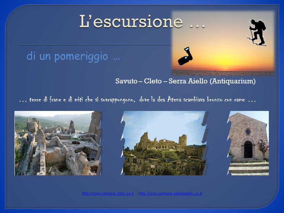 http://www.comune.cleto.cs.it - http://www.comune.serradaiello.cs.it