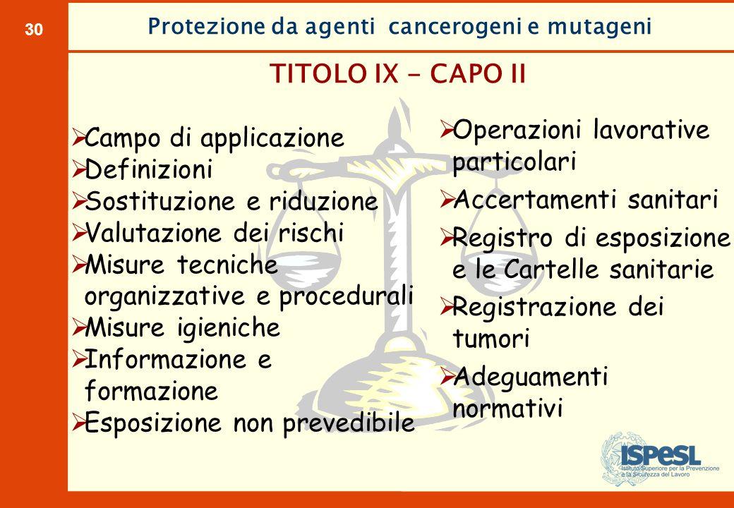 10.000 morti/anno per tumori professionali