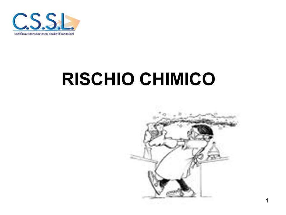 RISCHIO CHIMICO