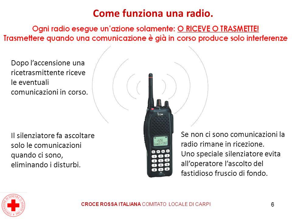Come funziona una radio.