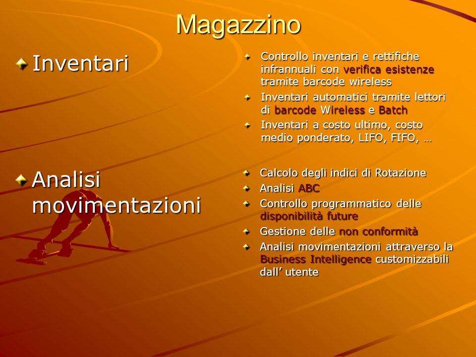 Magazzino Inventari Analisi movimentazioni