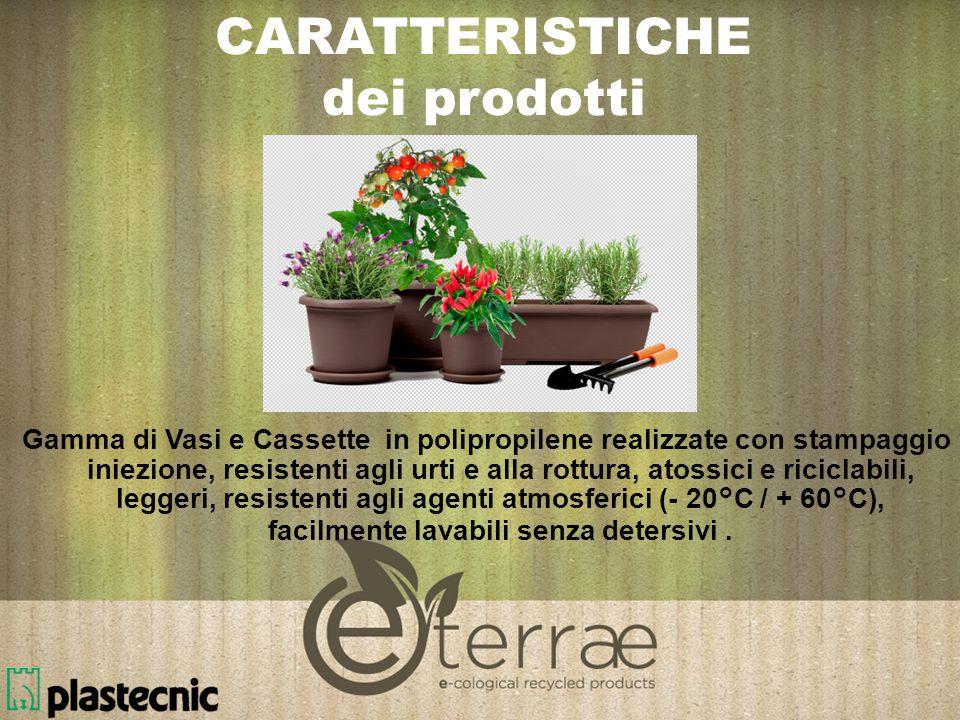 CARATTERISTICHE dei prodotti