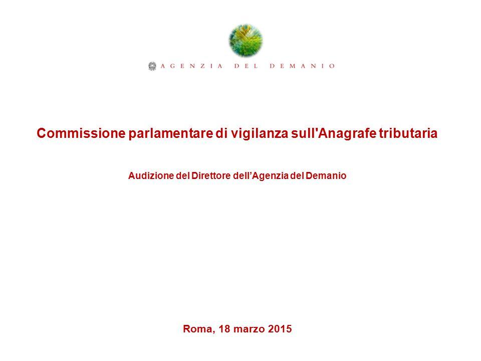 Commissione parlamentare di vigilanza sull Anagrafe tributaria