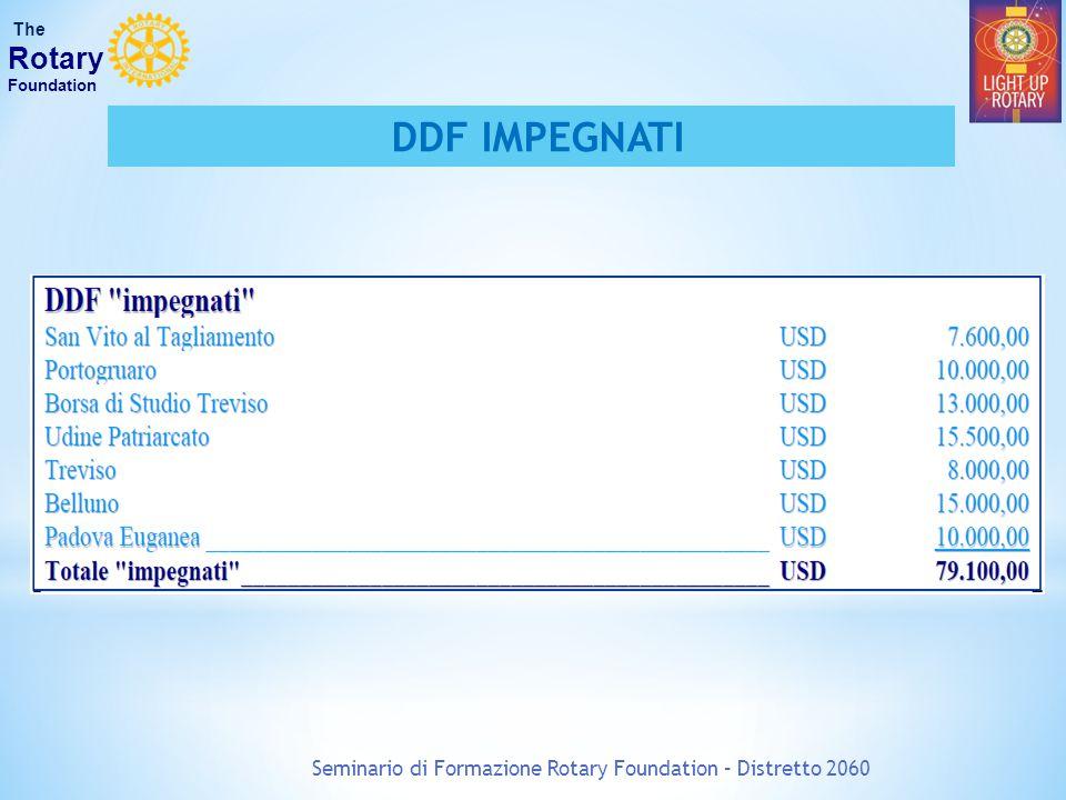 Seminario di Formazione Rotary Foundation – Distretto 2060