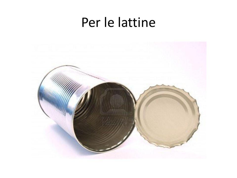 Per le lattine